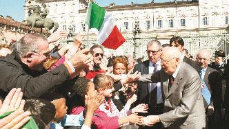 Giorgio Napolitano e Torino