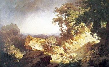 Rocce nelle Langhe, di Giuseppe Camino