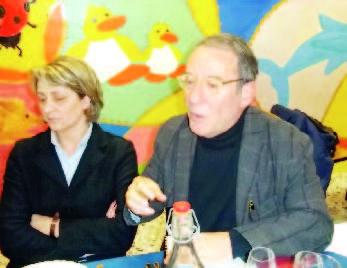 Luciana Bonetto e Guglielmo Pilato