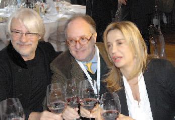 Ricky Tognazzi, Edoardo Raspelli e Simona Izzo