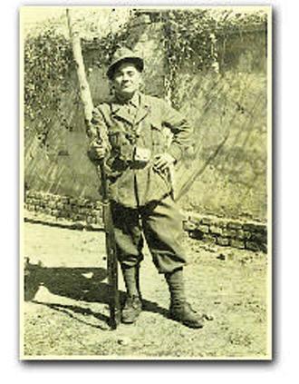 Luigi Galliani in una foto d'epoca