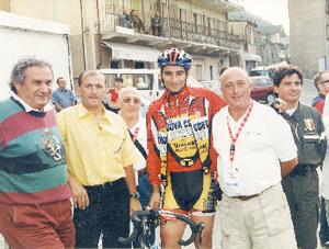 Pietro Ferrero in bici