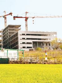 Ospedale di Verduno, lavori in corso