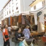 Presidio dei volontari durante i mercati