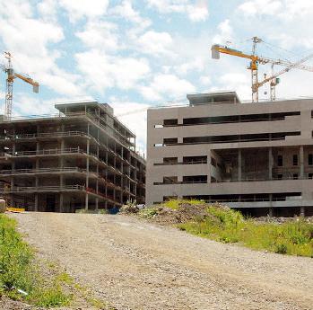 Il cantiere dell'ospedale di Verduno
