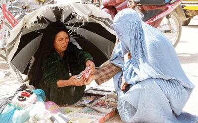 Kabul: vita al mercato