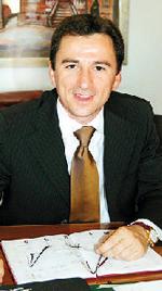 L'assessore ai lavori pubblici Luciano Messa