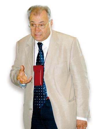 Il presidente dell'Ente fiera Antonio Degiacomi.