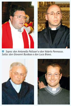 Nuove nomine dei parroci