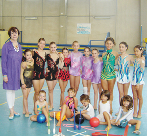 Stella Miloucehva e le sue studentesse