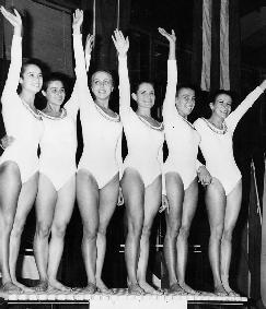 World champion 1969, a Varna: Stella è l'ultima da sinistra.