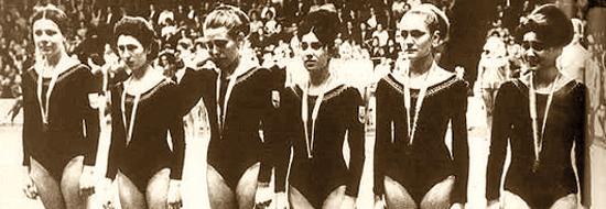 Copenaghen 1967, Stella Miloucheva è la quarta da sinistra.