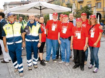 I volontari: ottimo lavoro!