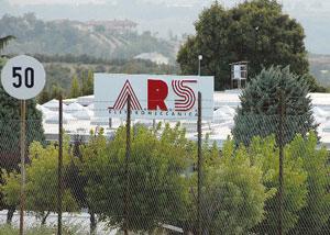 Lo stabilimento Ars elettromeccanica (ex Invensys) di La Morra (foto Marcato).