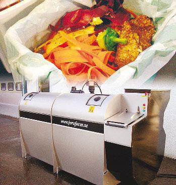 La compostiera della svedese Joraform è importata da Erica di Alba