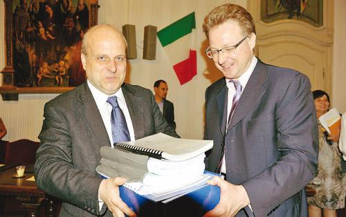Maurizio Marello e Giuseppe Rossetto: sindaci e opinioni a confronto sul PRG