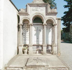tomba della famiglia Audisio Bra