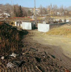 Zona costruzione del centro benessere a Canale