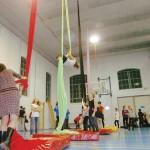 Inaugurata la prima palestra di acrobatica aerea della Granda