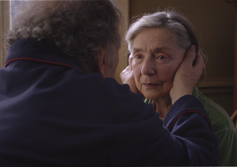 """Un'inquadratura di """"Amour"""", diretto da Michael Haneke, Palma d'oro"""
