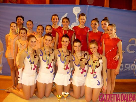 Ginnastica Alba squadra open
