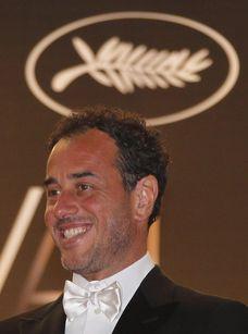 Matteo Garrone, vincitore del Grand Prix con Reality (foto Ansa)