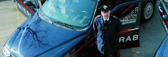 carabinieri di Alba in un'immagine di archivio