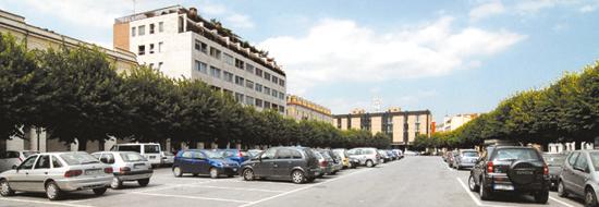 Parcheggi in piazza San Paolo