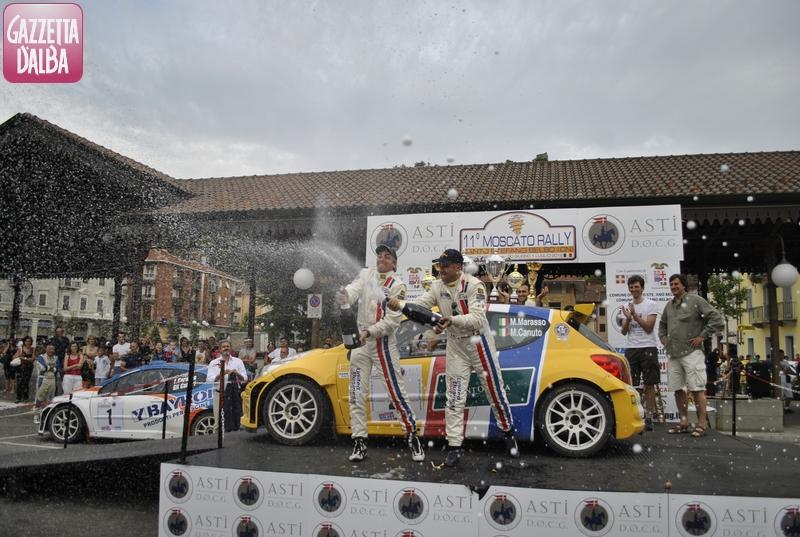 La premiazioni dei vincitori Marasso-Canuto