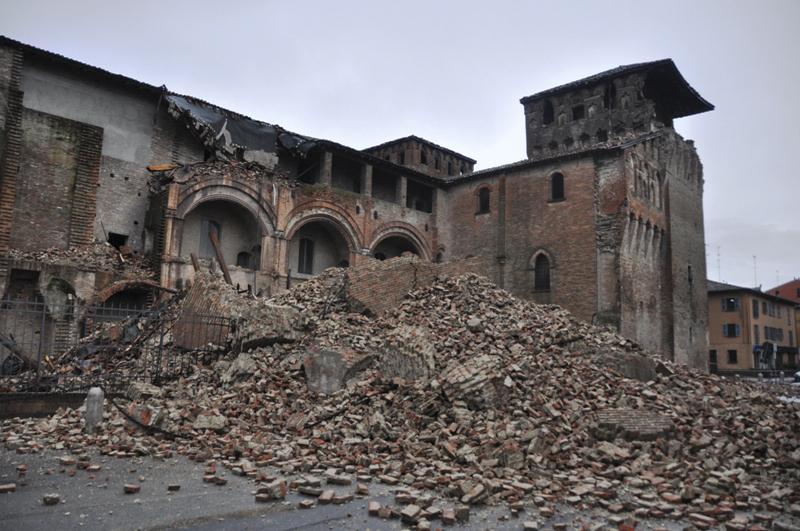 Il sisma del 20 maggio in Emilia Romagna (foto Dipartimento protezione civile)