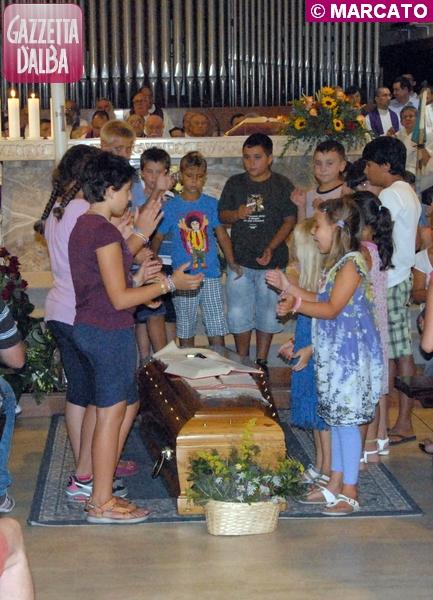 don Valentino Vaccaneo, funerale