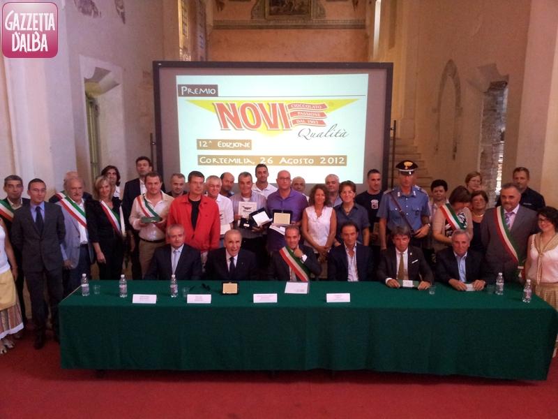 Top 16 Premio Novi Qualita 2012 Cortemilia