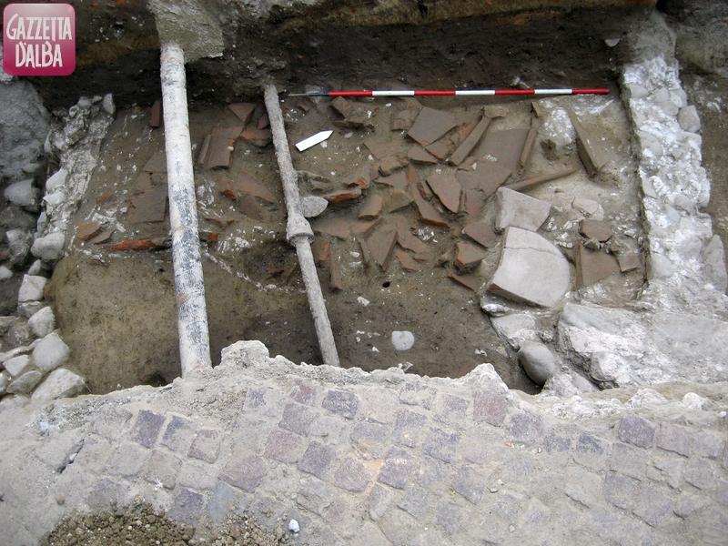 scavo piazza vittorio veneto 1