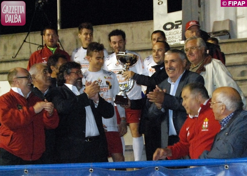 premiazione albese coppa italia 2012