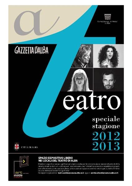 speciale teatro copertina 2012