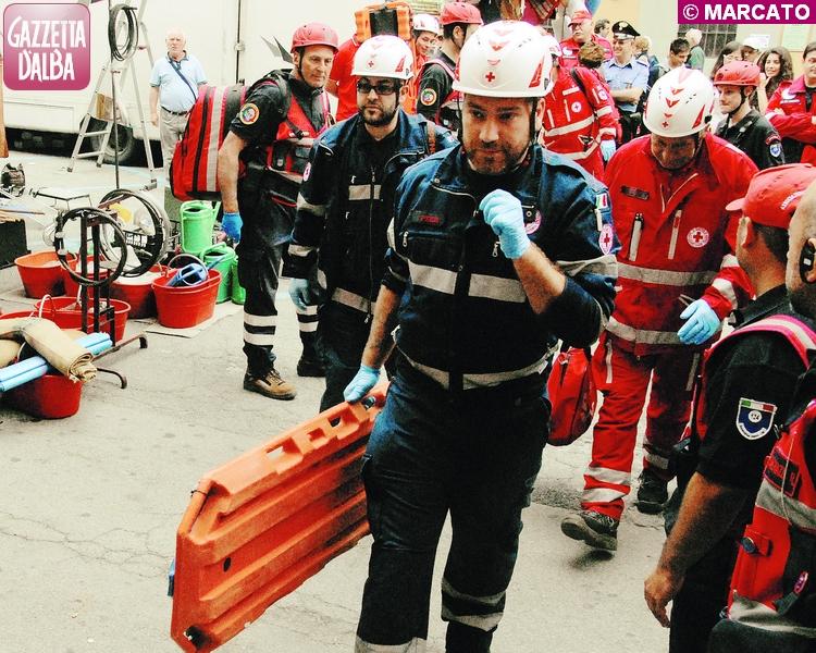 La Protezione civile si esercita sull'emergenza terremoto