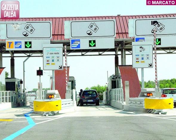 autostrada barriera govone