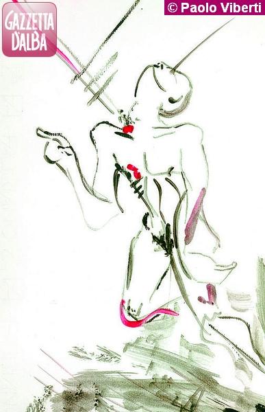 disegno di Paolo Viberti