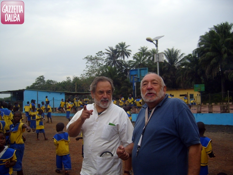 Bertola con Riccardo