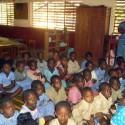 Scuola cattolica in Guinea