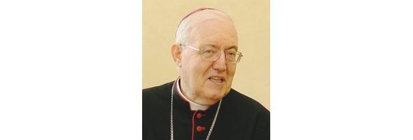 arcivescovo Cesare Nosiglia taglio