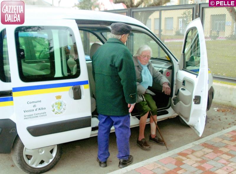 vezza trasporto anziani