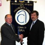 Confartigianato: Andrea Lamberti presidente della zona di Bra