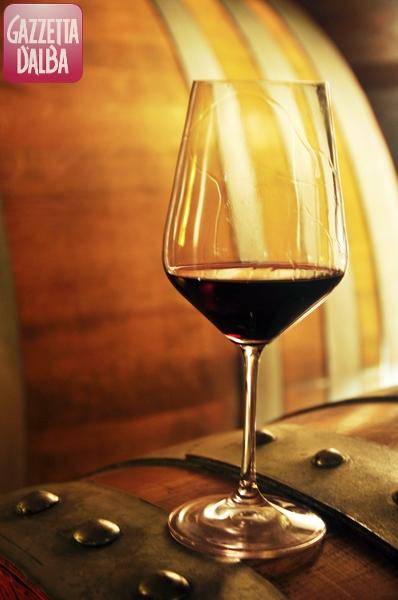 vino bicchiere botte