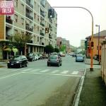Rotonda al posto del semaforo in viale Risorgimento