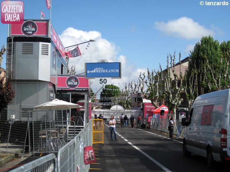 Cherasco si prepara al Giro 6
