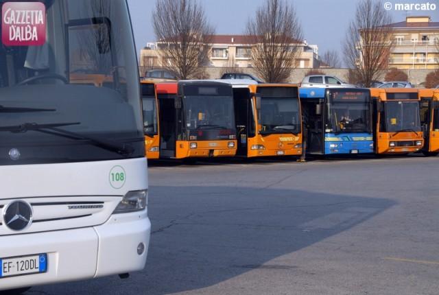 alba parcheggio bus