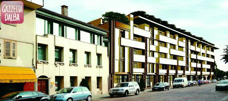 bra nuovo palazzo via Sarti