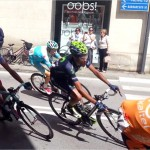 Giro d'Italia. Diego Rosa fora e arriva a Vicenza in leggero ritardo
