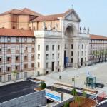 Alba: niente autobus in piazza Grassi e niente auto sul sagrato del tempio San Paolo